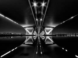 Under the bridge bw2 by almiller