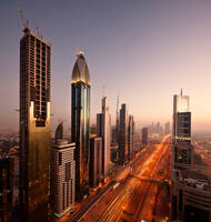 city glow by almiller