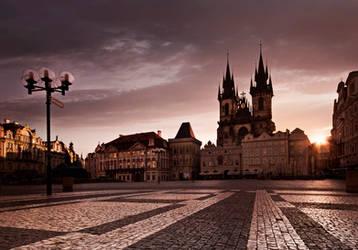 Golden Prague by almiller