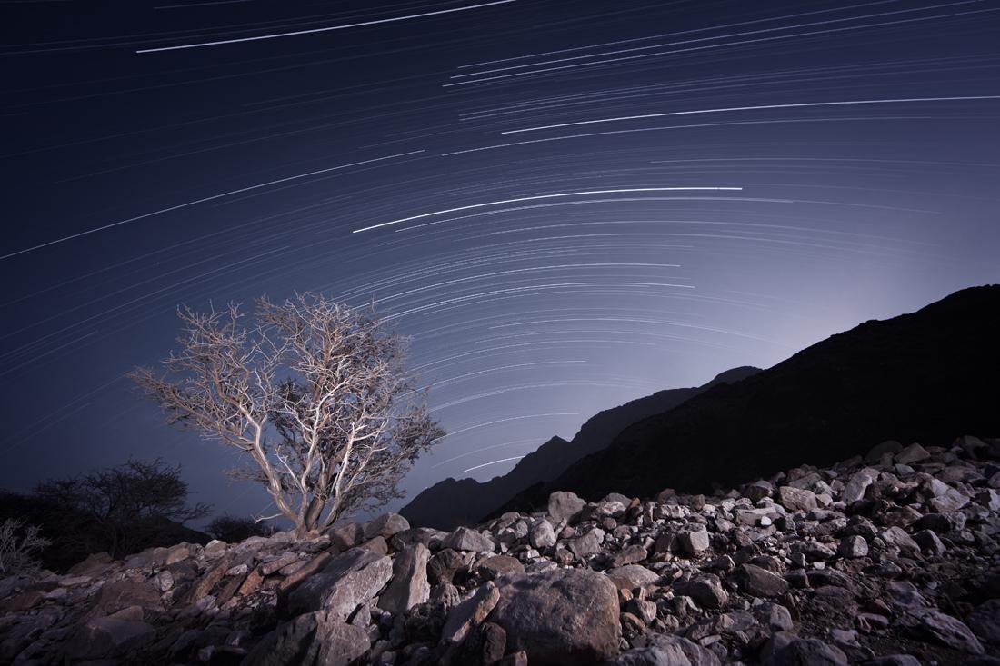 Desert Star Trails