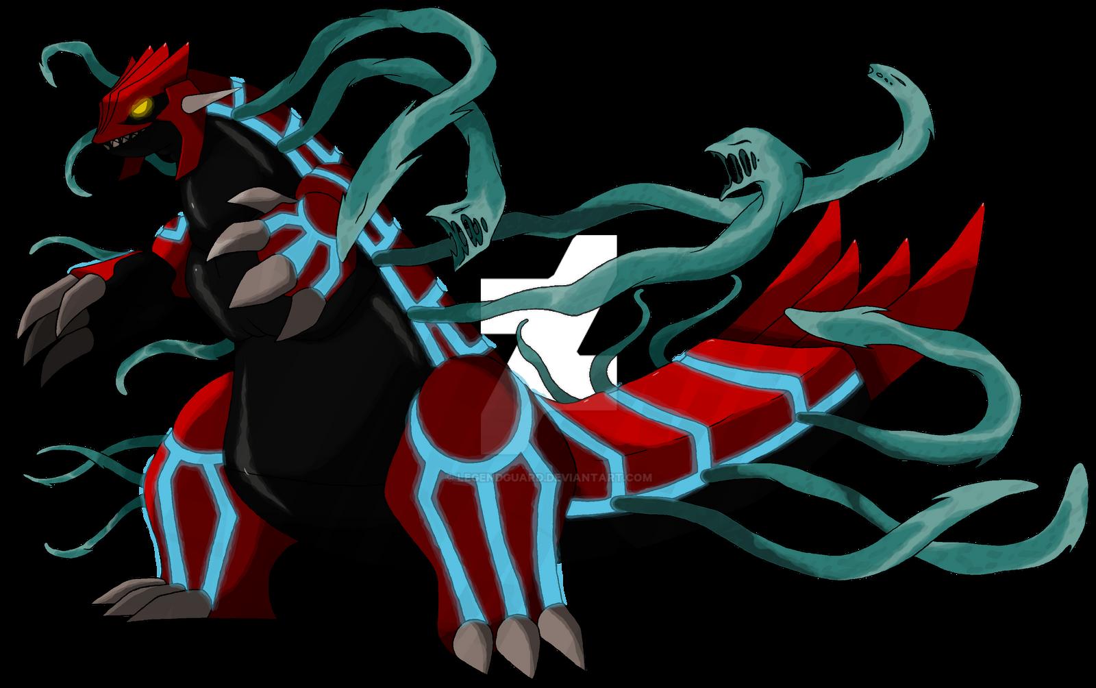 Groudon Virus Form v1 [Being remade] by legendguard on DeviantArt