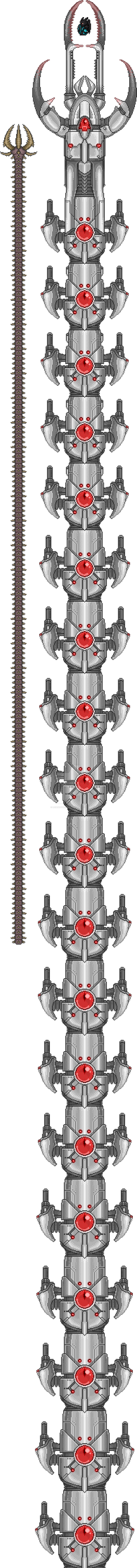[Terraria] The True Destroyer (first 20 segments) by legendguard