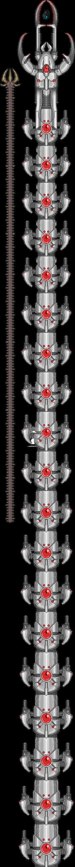 [Terraria] The True Destroyer (first 20 segments) by legendguard