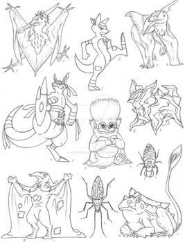 Creature Compilation Round 4