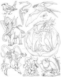Creature Compilation Round 7