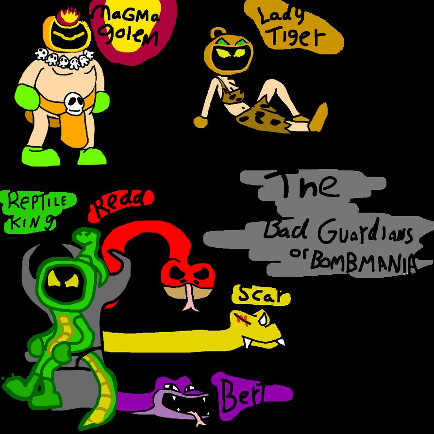 The Baddies of Bombmania by BomberTim