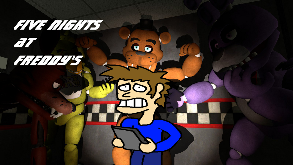 FNAF1 (Got bored by making a title for this one.) by BomberTim