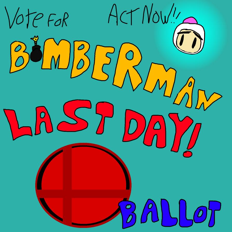 Smash Ballot Bomberman (Ended) by BomberTim