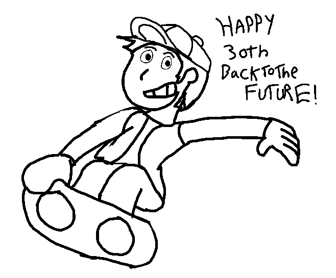 Hoverboard (Back To The Future 30th anniversary) by BomberTim