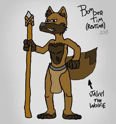 Jaleel The Wolfie by BomberTim