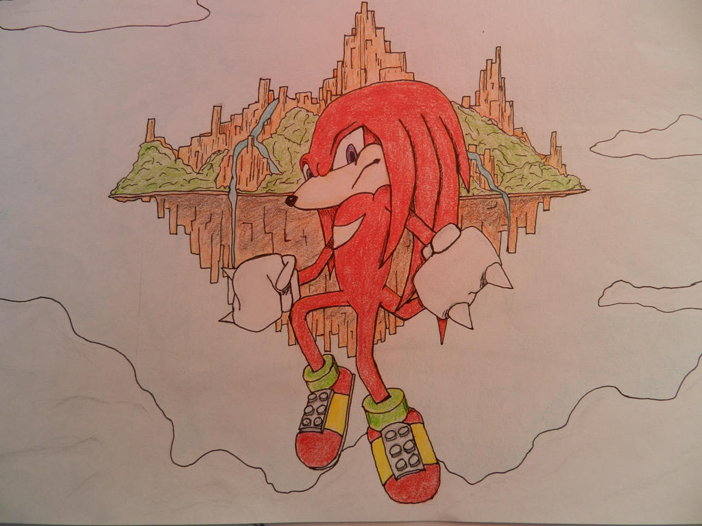 Knuckles the Echidna by Storming777
