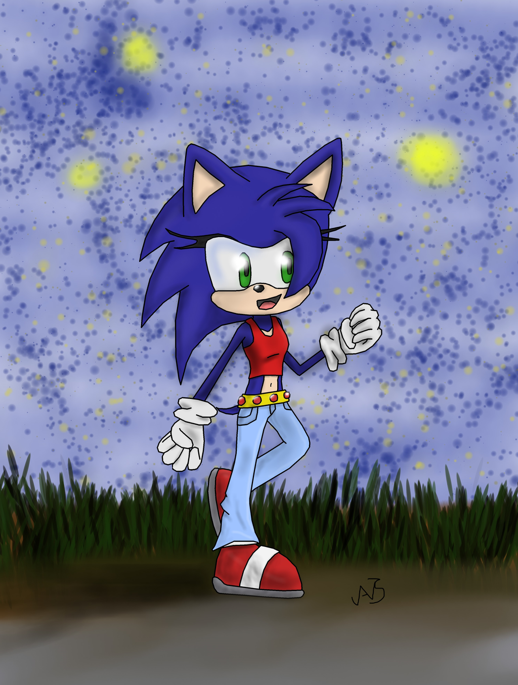//*Request*// Stella the Hedgehog by Storming777