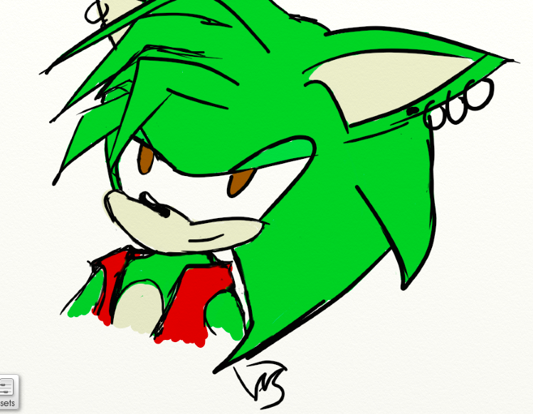 Manic the Hedgehog by Storming777