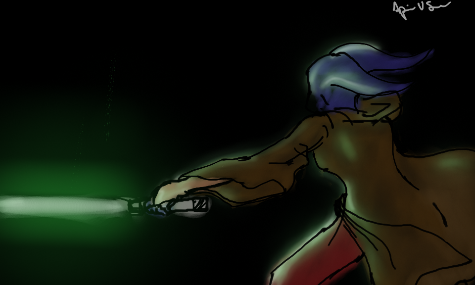Jedi Lightsaber by Storming777