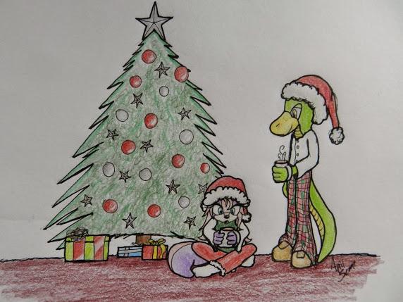 Tycro and Iris: Christmas by Storming777