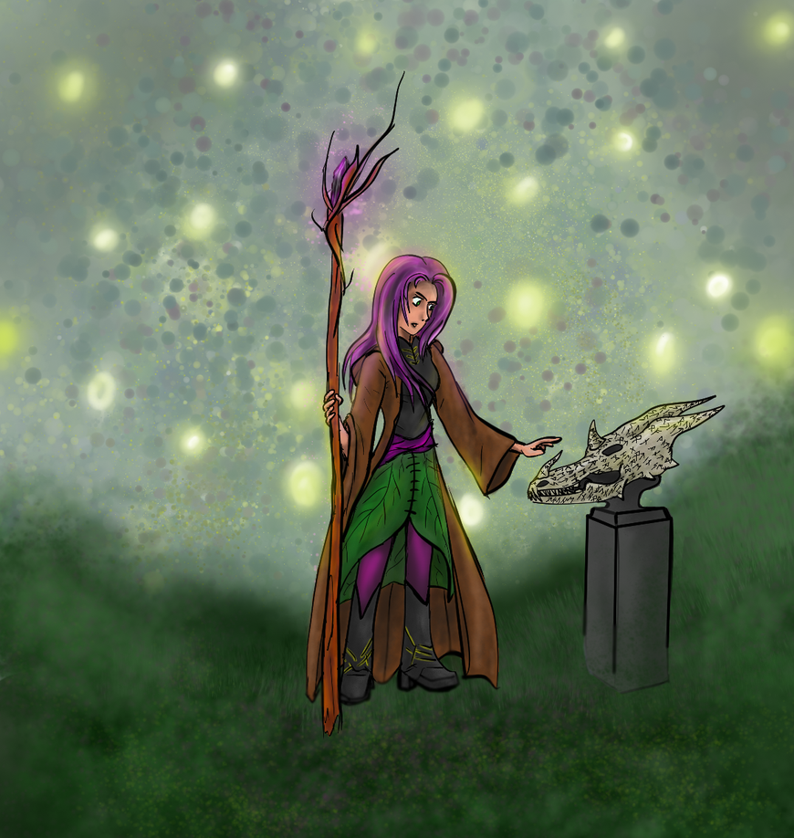 Asteria The Wizardess by Storming777