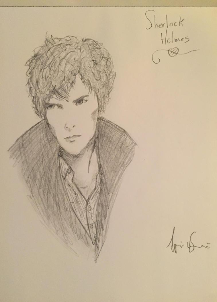Sherlock Holmes (Benedict Cumberbatch) by Storming777