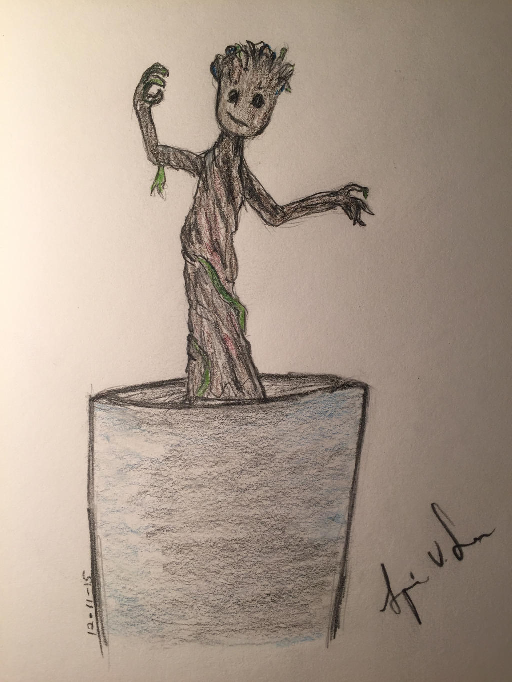Little Groot by Storming777