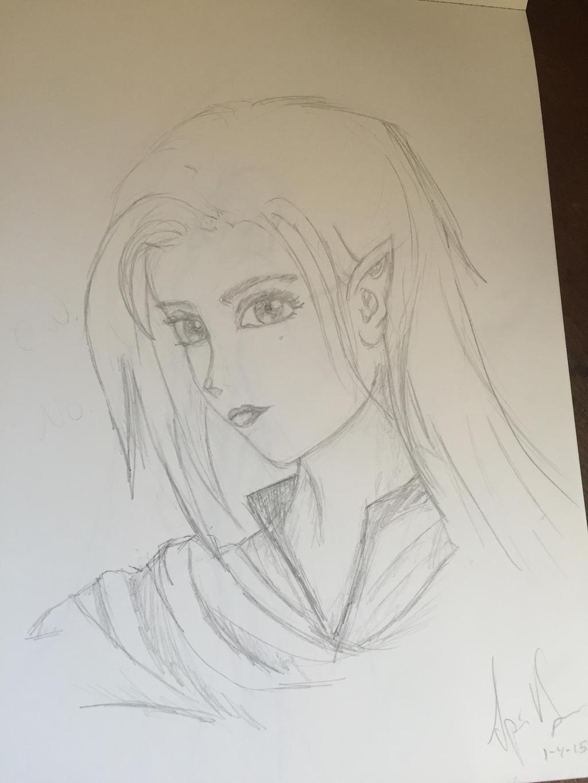 Elvish Maiden by Storming777