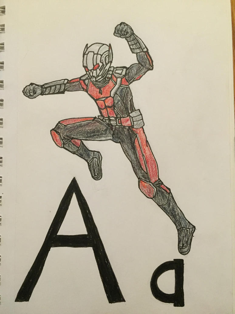 A is for Ant-Man by Storming777
