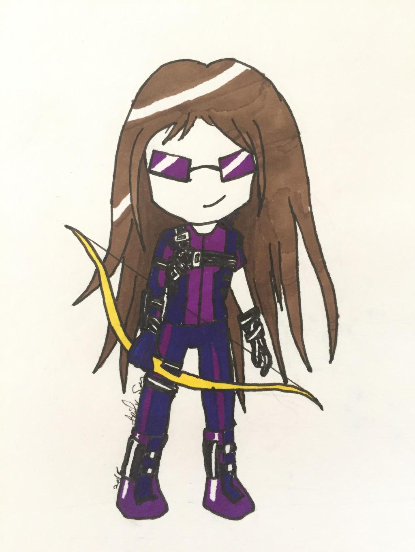 Chibi Hawkeye by Storming777