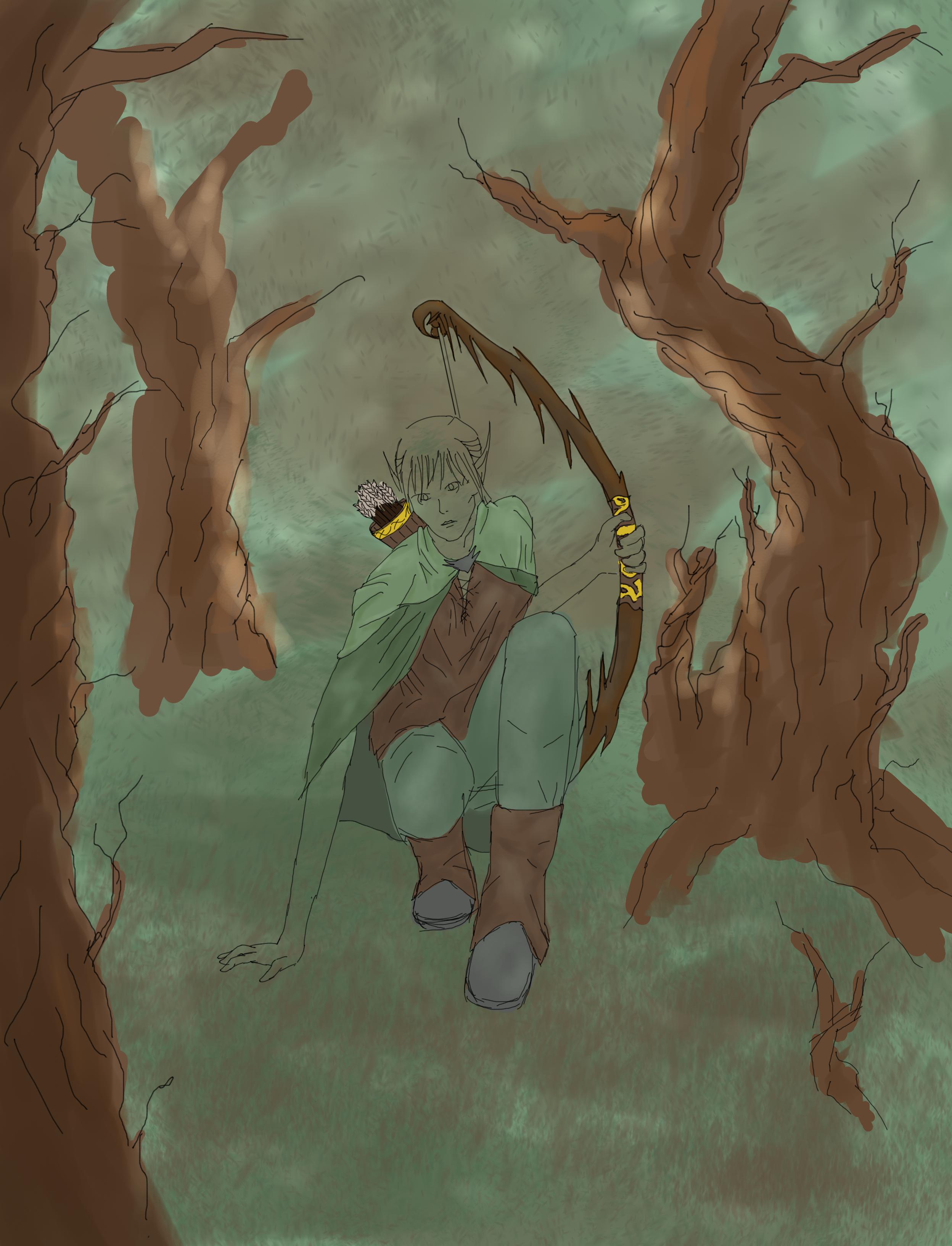 Elvish Ranger {UNFINISHED} by Storming777