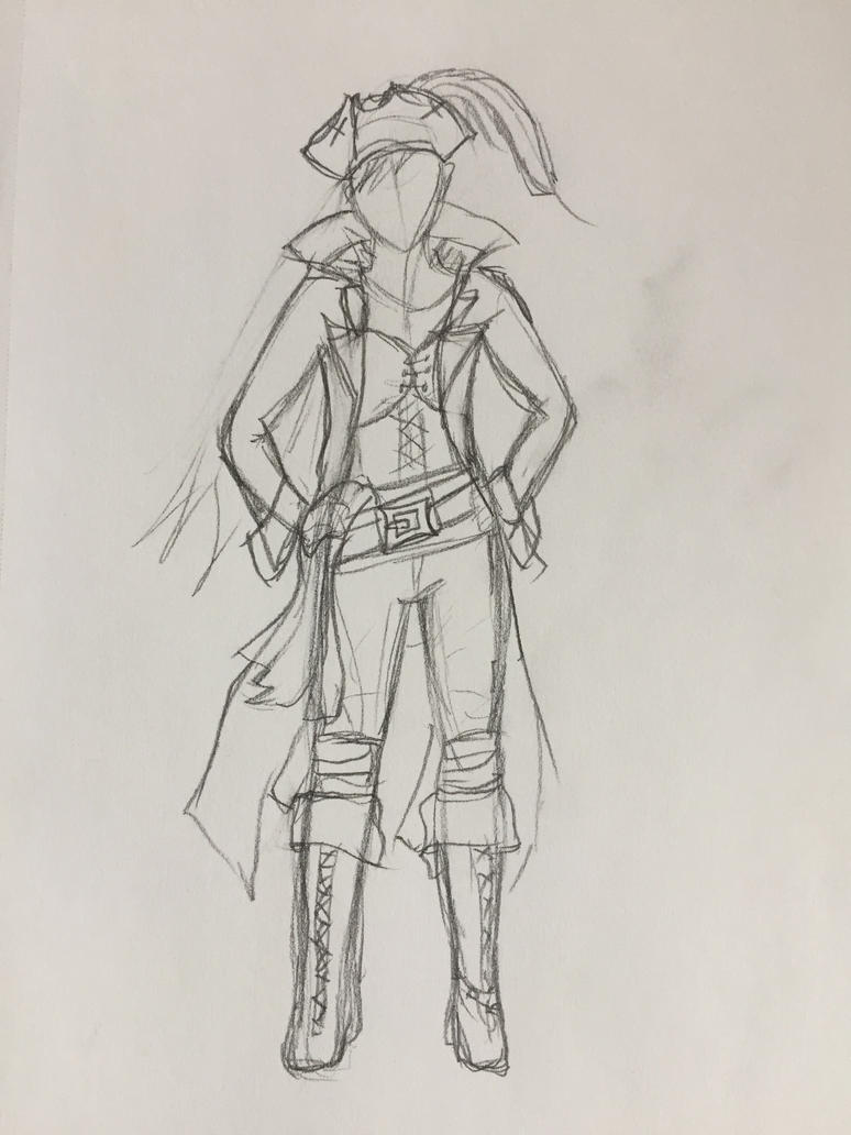 Pirate Sketch by Storming777