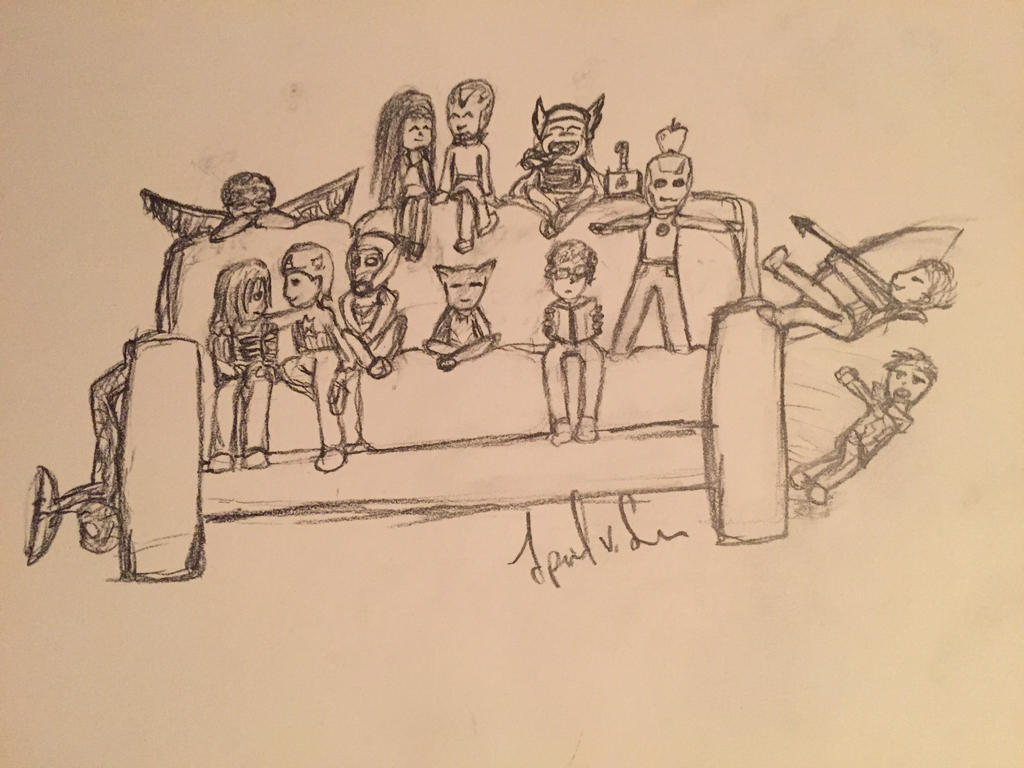 Tiny Avengers by Storming777