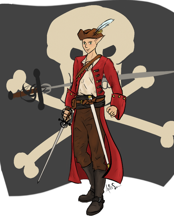Aramel The Pirate King by Storming777