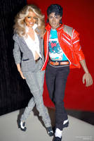 Farrah and MJ by farrahlfawcett