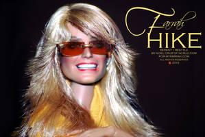 Farrah HIKE! by farrahlfawcett