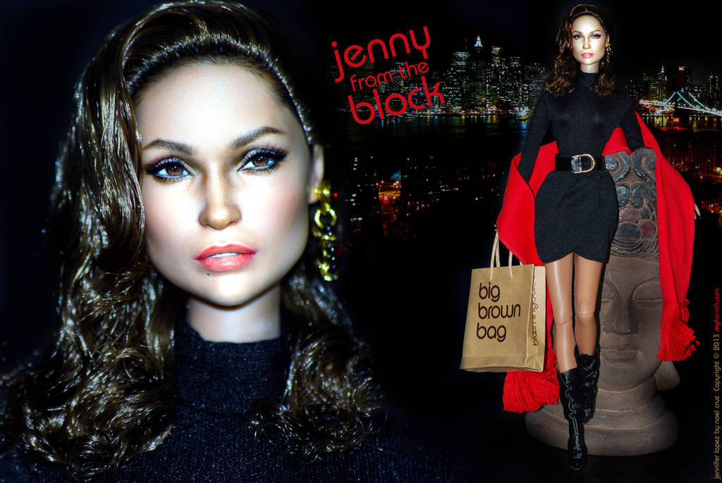 Jenny from the BLOCK! by farrahlfawcett