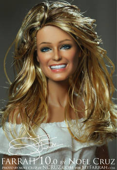 Black Label Farrah Fawcett repaint by Noel Cruz