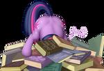 She likes reading books