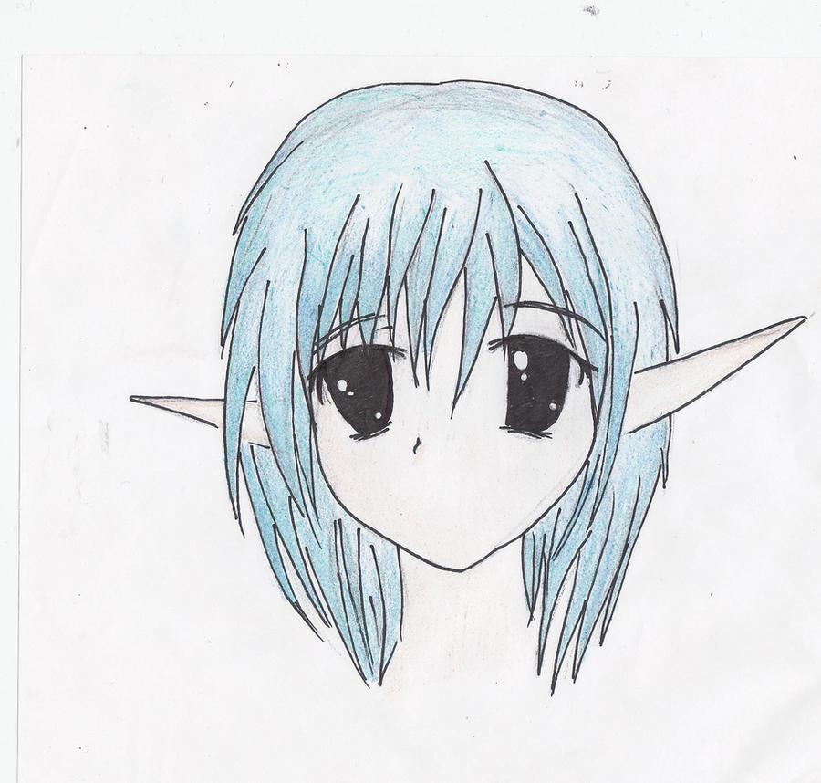 how to draw a fantasy elf