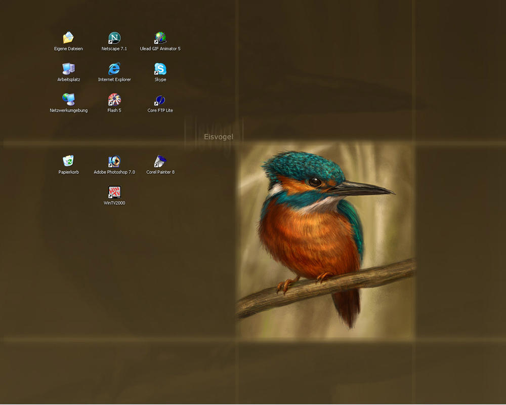 My current desktop by Thunderbird111
