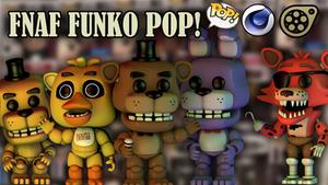 Funko Fnaf pop + Download (c4d) by MimiThePanda