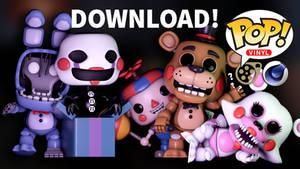 Fnaf 2 Funko POP! C4D + sfm? Download. by MimiThePanda
