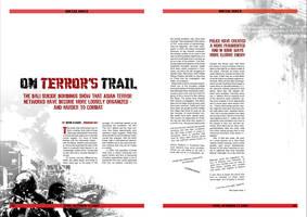 magazine layout by pentipentipen