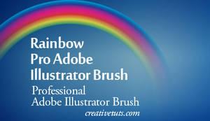 Rainbow Pro Illustrator Brush