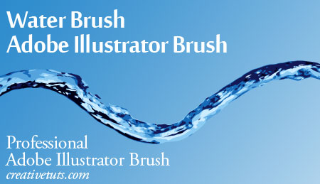 Pro Water Illustrator Brush by Grasycho