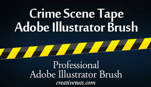 Crime Scene Tape AI Brush