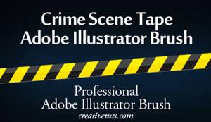 Crime Scene Tape AI Brush