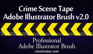 Crime Scene Tape AI Brush v2.0