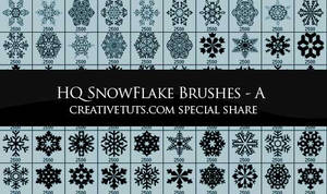 Snowflakes PS Brushes - A