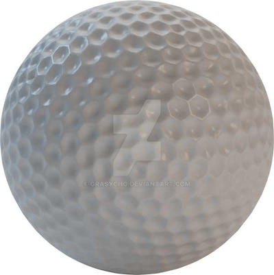 HQ Golf Ball - Stock PSD by Grasycho