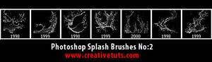 Photoshop Splash Brushes No 2