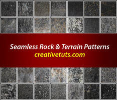Seamless Rock Patterns for PS by Grasycho