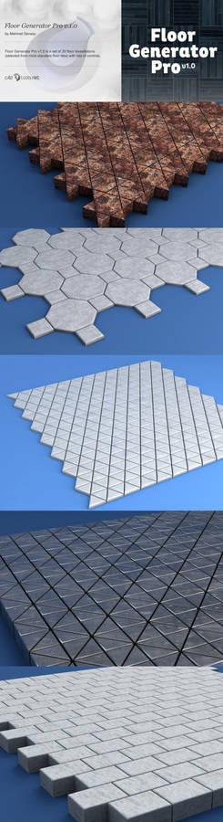 Floor Generator Pro for Cinema 4D