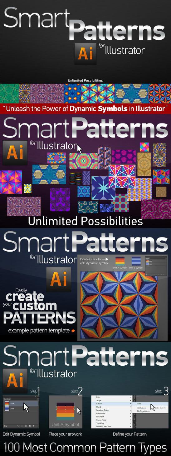 Smart Patterns for Illustrator by Grasycho